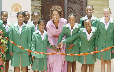 Oprah's school for African girls