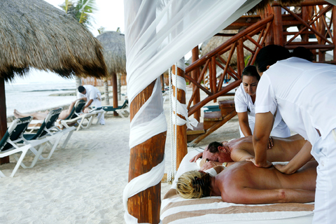 ... Beach Resort in Cancun, Mexico, where au natural amenities include nude ...