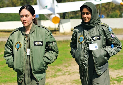 Sky's the limit for female Pakistani fighter pilots - Taipei