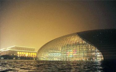 Asia boom attracts cutting edge architects taipei times for Beijing opera house architect