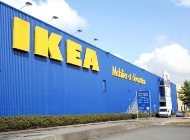 hitch in ikea s plans to conquer india taipei times. Black Bedroom Furniture Sets. Home Design Ideas