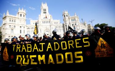 Protesters say austerity is 'ruining' Spain's economy ...
