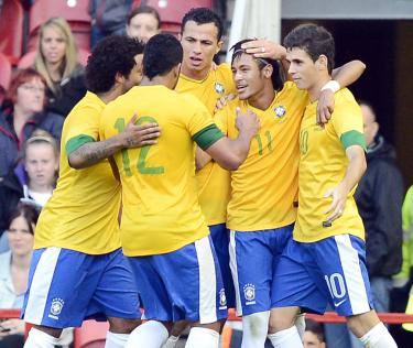 LONDON 2012 OLYMPICS: Brazil underline their position as soccer ...