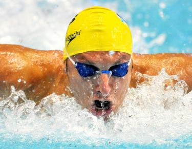 London 2012 Olympics Thorpe Says The Aussies Flop In Pool No Deterrent Taipei Times
