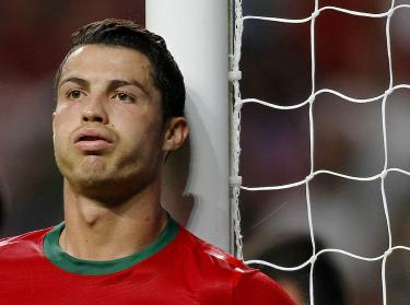 Portugal's Cristiano Ronaldo gestures in his side's 2014 World Cup