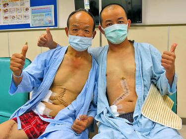 Sons Draw Lots To Decide Who Gives Their Liver To Dad Taipei Times