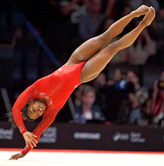 floor gymnastics moves. Simone Biles Of The US Performs On Floor During Women\u0027s All-round Final At Gymnastics World Championships In Glasgow, Scotland, Thursday. Moves