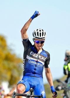 Alaphilippe claims stage-three victory in Tour of California - Taipei Times