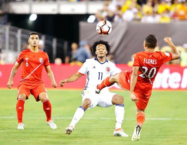 best website def83 5b2d2 Colombia advance as Peru pay penalty - Taipei Times