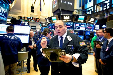 Wall street surges to new record highs taipei times for 14 wall street 23rd floor