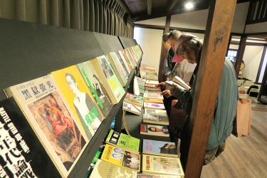 Once-banned books now on display in Taichung