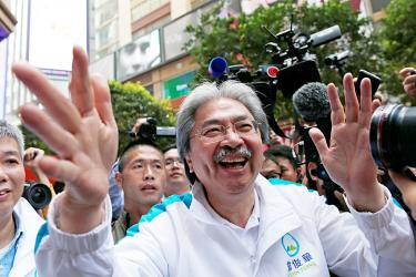 HK likely to choose Beijing's pick for leader amid tension