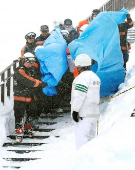 Seven high-school students and one teacher killed in Japanese avalanche