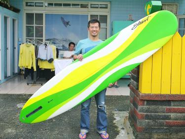 George Tsai to lead Olympic surf team