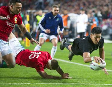 All Blacks canter to win over Lions
