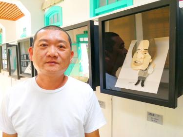 Paper artist Chen's devotion on display in Tainan