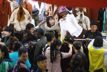Chinese services sector growth slows