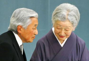 Japanese emperor set to abdicate in March 2019