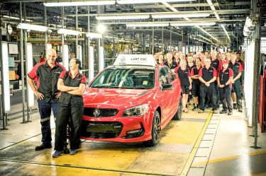 Australian manufacturer Holden produces last car