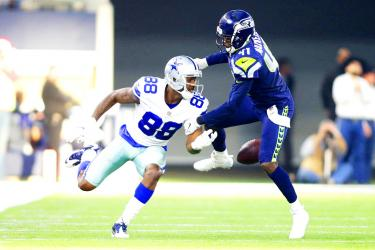 Seahawks Sink Cowboys In Elimination Game Taipei Times