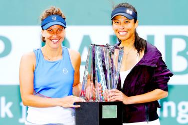 Unseeded Hsieh, Strycova win at BNP Paribas Open