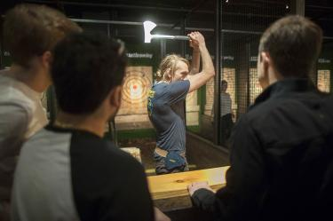 Axe throwing will be the new bowling, its fans hope