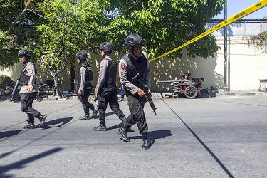 Two families carry out suicide attacks in Indonesia: police