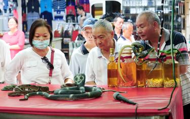 Last snake-only shop closes on Huaxi Street