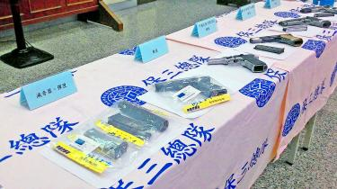 Law student detained on arms trafficking charges