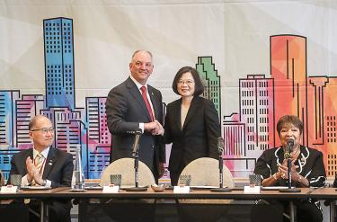 Taiwan, US to defend free market: Tsai