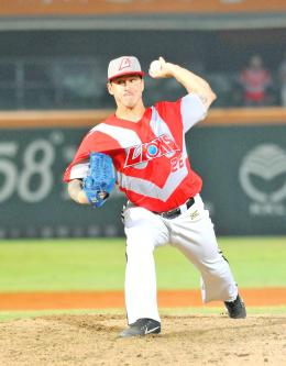 Lions' Verdugo sees first CPBL perfect game
