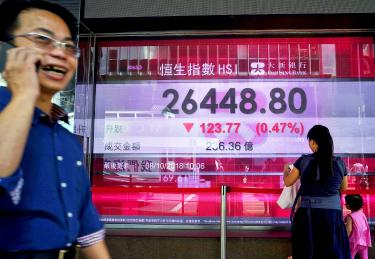 Chinese stocks slump after holiday
