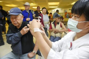 Government-funded flu shots start