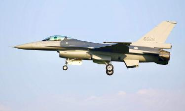 Upgraded F-16V arrives, three more due by year's end