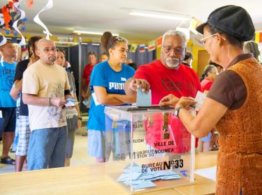 New Caledonians vote in plebiscite to stay part of France