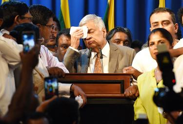 Sri Lankan prime minister reappointed