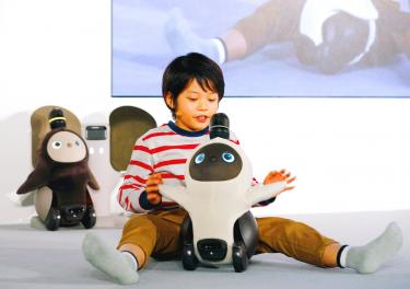 Start-up unveils 'affectionate' robot - Taipei Times