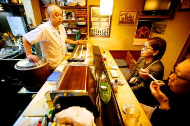 In A Tokyo Neighborhood S Last Sushi Restaurant A Sense Of
