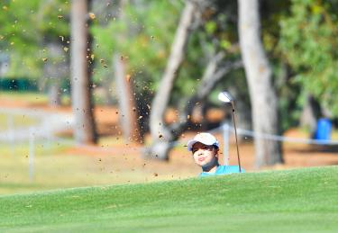 Hsu shares three-stroke lead at Australian Open