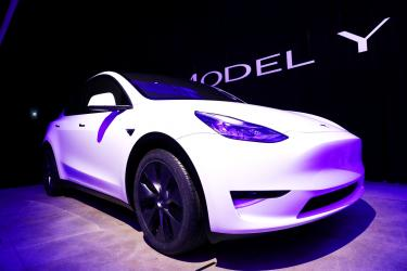 Musk reveals Tesla Model Y to start at US$39,000