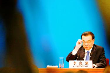 China ready to help economy: premier