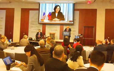 Taiwan ready against Chinese 'challenges': president