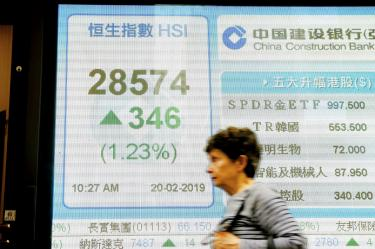 HK overtakes Japan as third-largest stock market