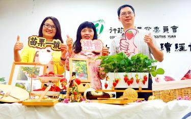 Miaoli touts new strawberry type