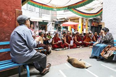 Dalai Lama leaves hospital, assuages supporters' anxiety
