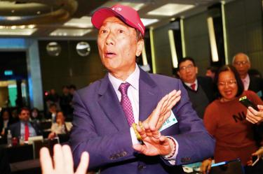Terry Gou to decide on presidential run 'soon'