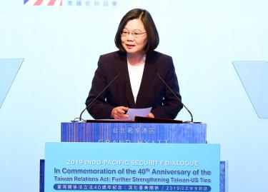 Taiwan will not be intimidated: Tsai