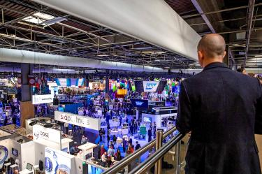 Start-up secures purchase order at French tech show