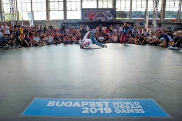 First World Urban Games seek street cred in Budapest - Taipei Times