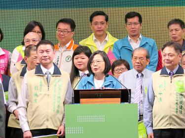 Tsai's campaign targets young voters